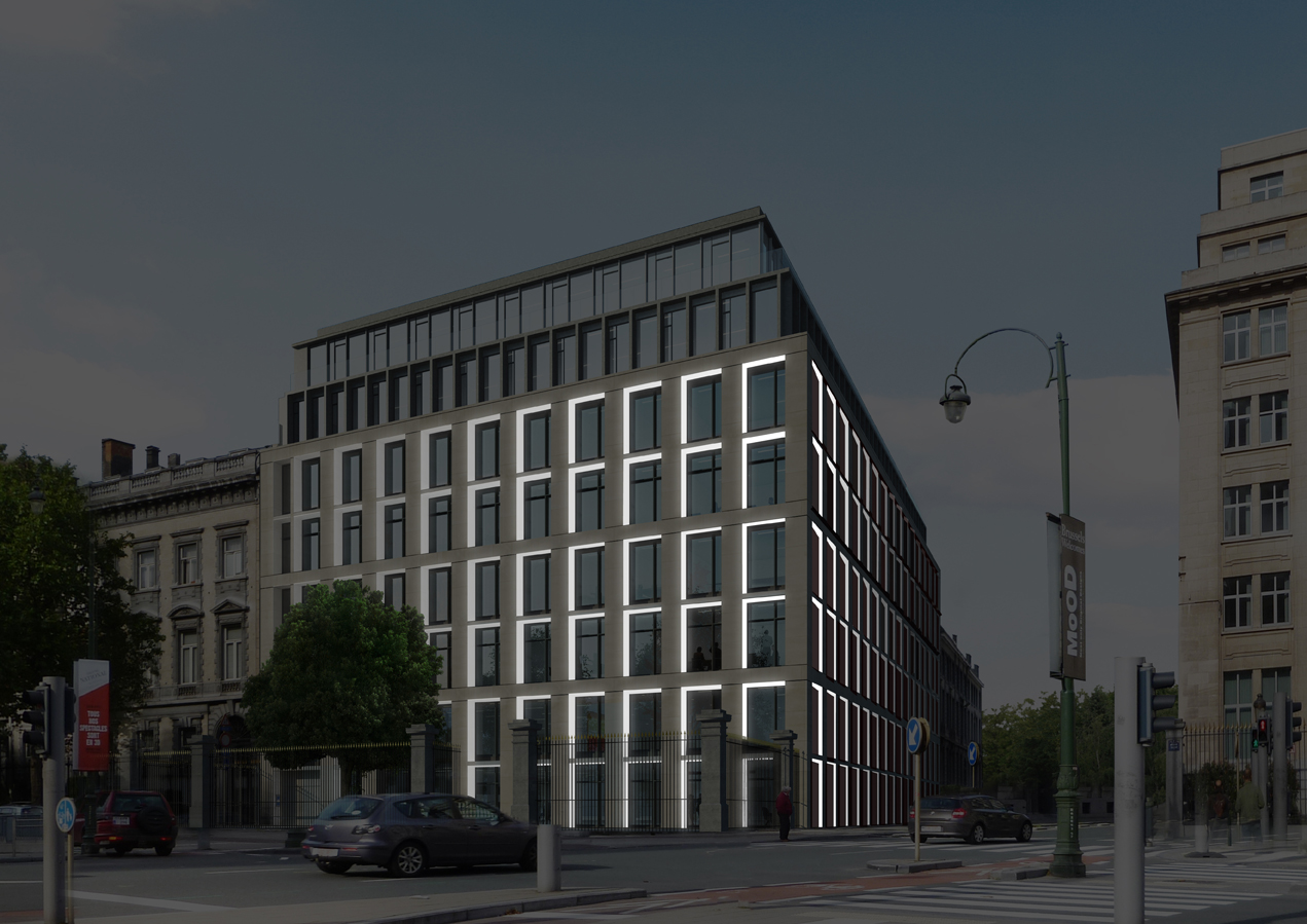 Regent35 Project – Working on the lighting of the exterior façades